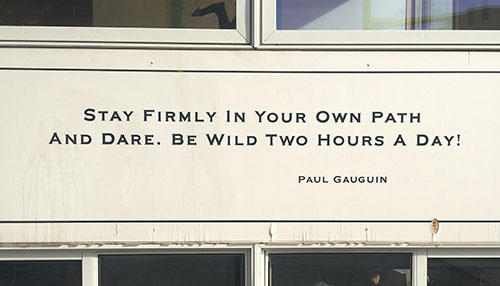 paul gauguin quote