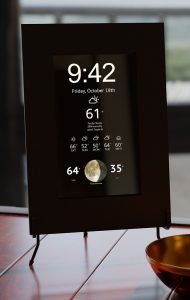 Smart Mirror for Sale with Time Weather and Moon Display