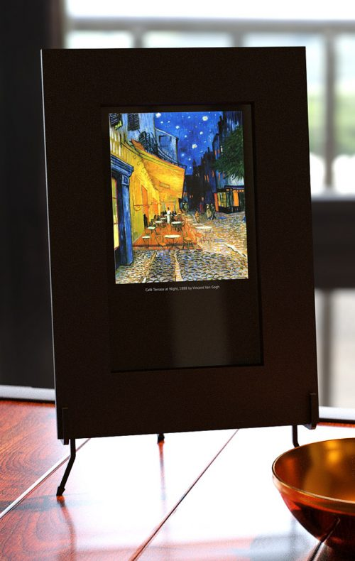 Smart Mirror with Van Gogh Cafe Terrace at Night